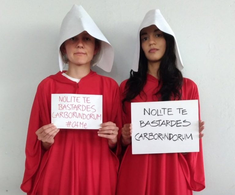 Voters Dressed In 'Handmaid's Tale' Outfits Protested Costa Rican Election