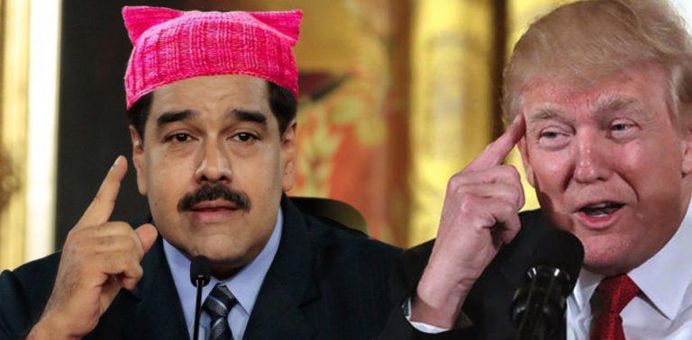 "Venezuelan dictator Maduro takes advantage of the same ""feminism"" that condemns Trump"