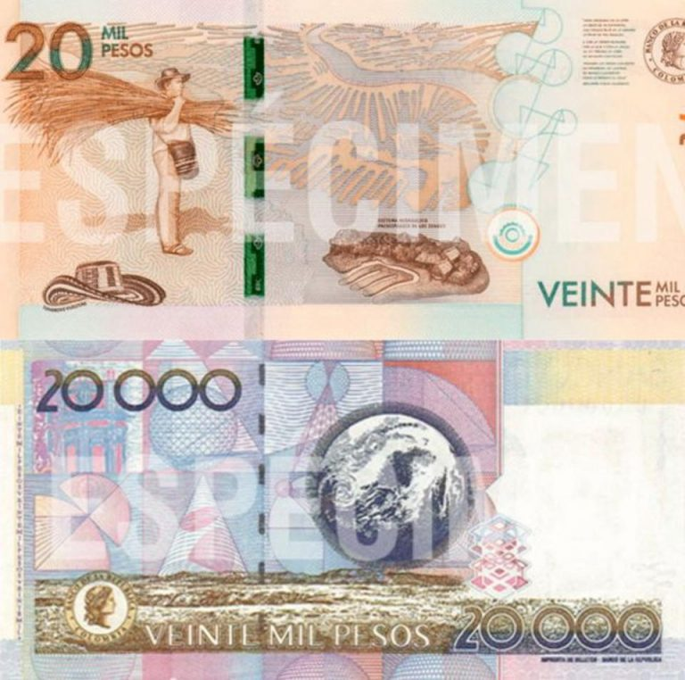 Colombia Aims to Remove Three Zeros From Peso Bills