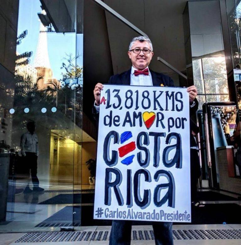Viva La Democracia! First Polls Open In Australia in Costa Rica's Presidential Elections
