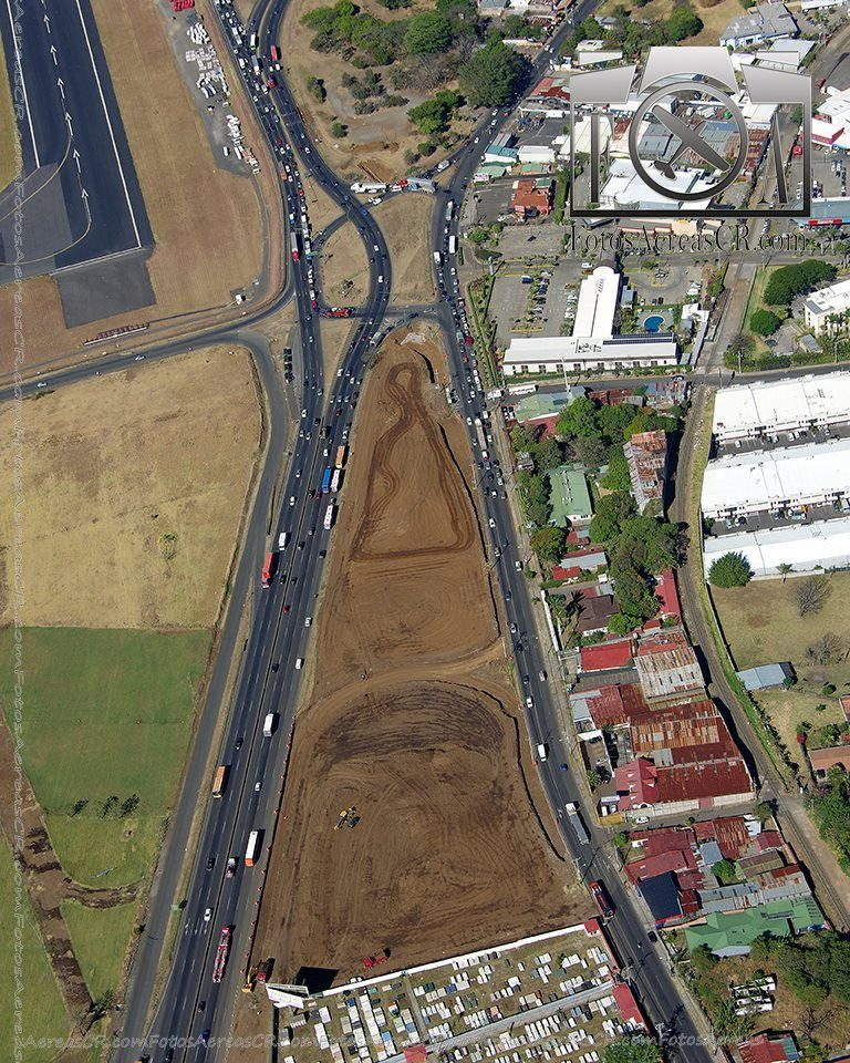 Road Changes at Juan Santamaria (San Jose) Airport – Photos