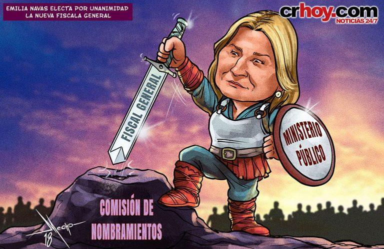 Emilia Navas Is Costa Rica's New Fiscal General (Chief Prosecutor)