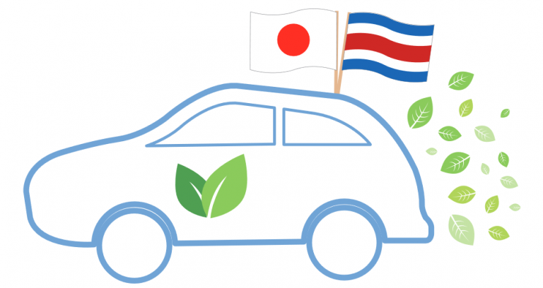 Costa Rica Receives Donation of 60 Hybrid and Electric Vehicles From Japan