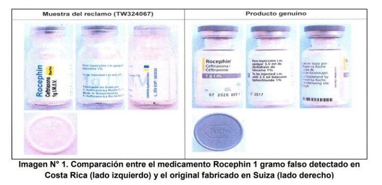 Health Authority Warns Of False Antibiotic