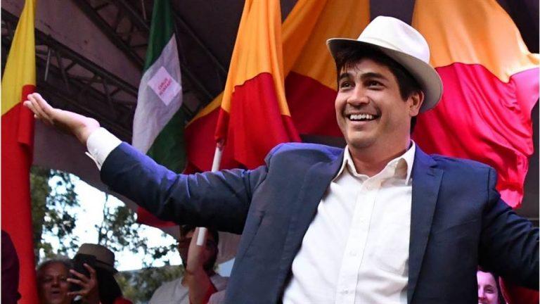 President-elect Carlos Alvarado Calls For Unity, 'Taking The Country Forward'