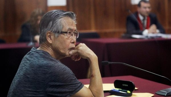 Peru's Fujimori Faces New Charges Over Forced Sterilizations