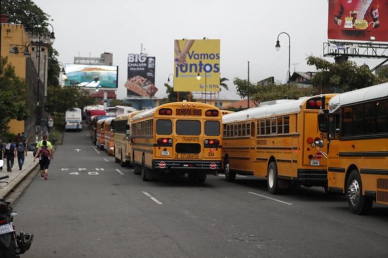 School Buses In Costa Rica Are The Junk of The U.S. and Korea