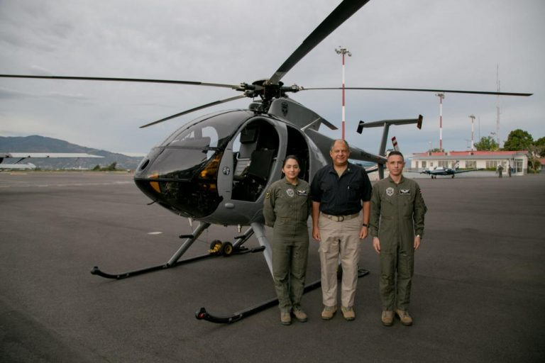 Four Helicopters Will Reinforce Aerial Surveillance Work in Costa Rica