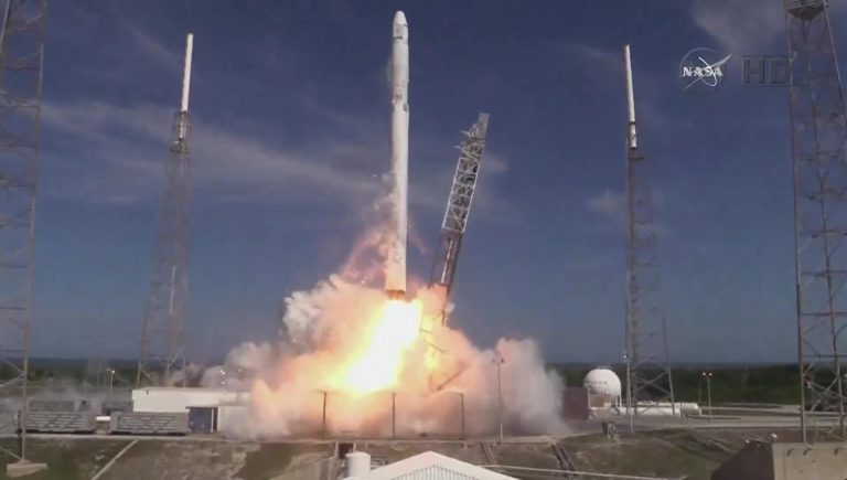 Launch of SpaceX Falcon 9 with Costa Rica Payload (Video)