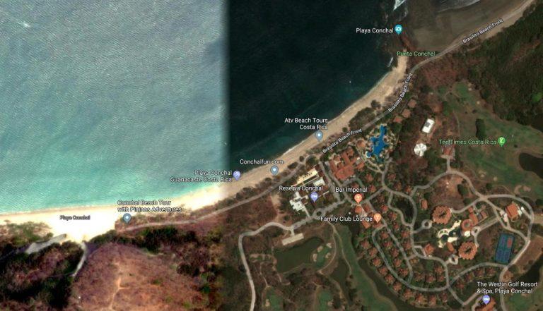 Court Order Prohibits Vehicles On Playa Conchal, Guanacaste