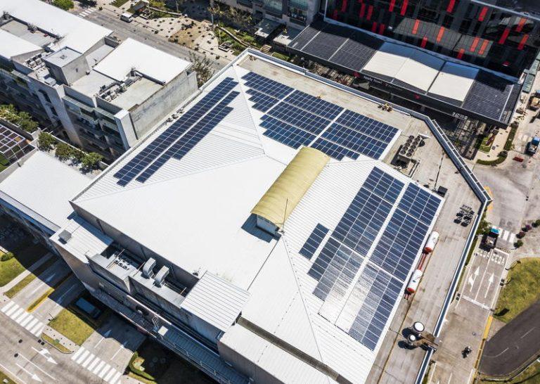 Solar Panels Will Power Avenida Escazu Food Court