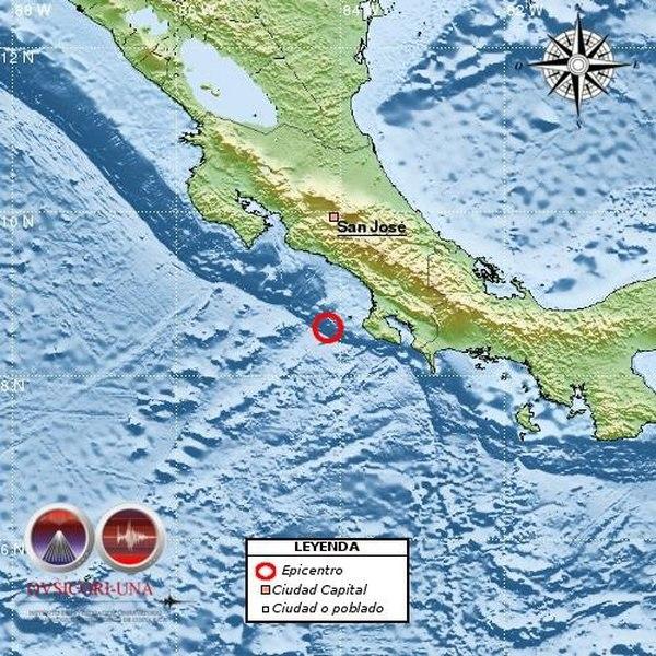 5.3 Earthquake Shakes Osa Peninsula