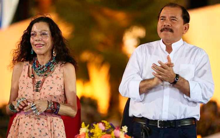 The Ortegas Congratulate Carlos Alvarado