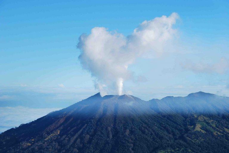 Costa Rica's Turrialba Volcano (Video)