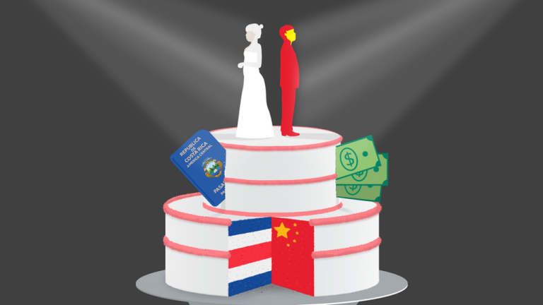 Why Costa Ricans are being paid to marry Chinese migrants