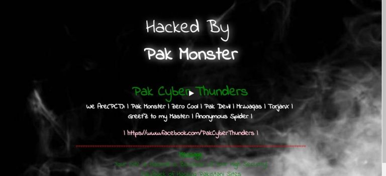 Pakistani Hackers In Massive Attack On Costa Rica Government Websites