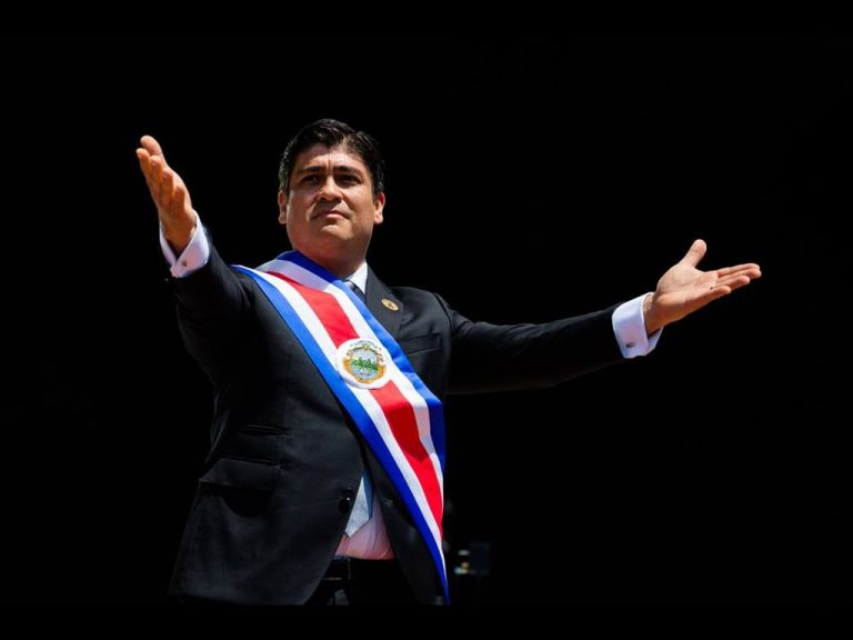 Carlos Alvarado: 'I Swear To Be The Best Version Of Myself To Take The Reins of the Country'