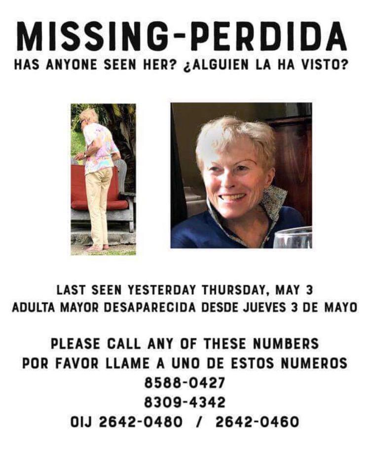 Elderly German Tourist Missing In Montezuma