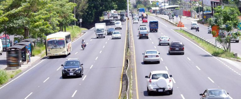Exclusive Bus Lanes Enforcement  On The General Cañas Back On May 14