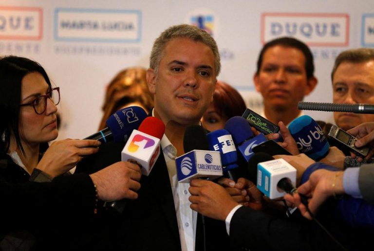 Duque Mantains Lead in Poll for Colombia election