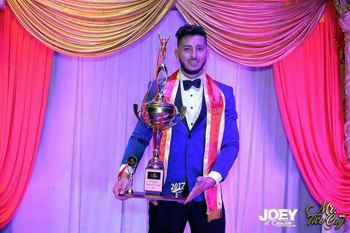 Mister Tico Gay Takes Sixth Place In Mr. Gay World 2018