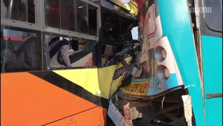 """Bus Involved In Morning Collision Lacked Permits. """"It Did Not Have Authorization For Anything"""", Cosevi"""