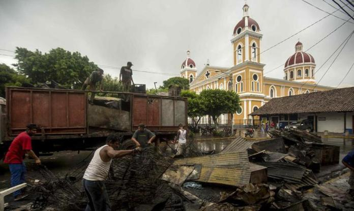 Granada, Nicaragua's Main Tourist Destination In Chaos and Ruins Due to Clashes