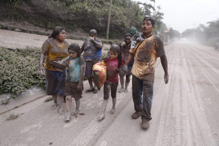 Deadly Guatemala Volcano Eruption In Photos
