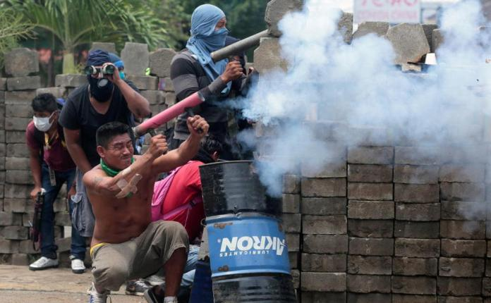 Government Forces Try To Subdue Masaya, Six Dead
