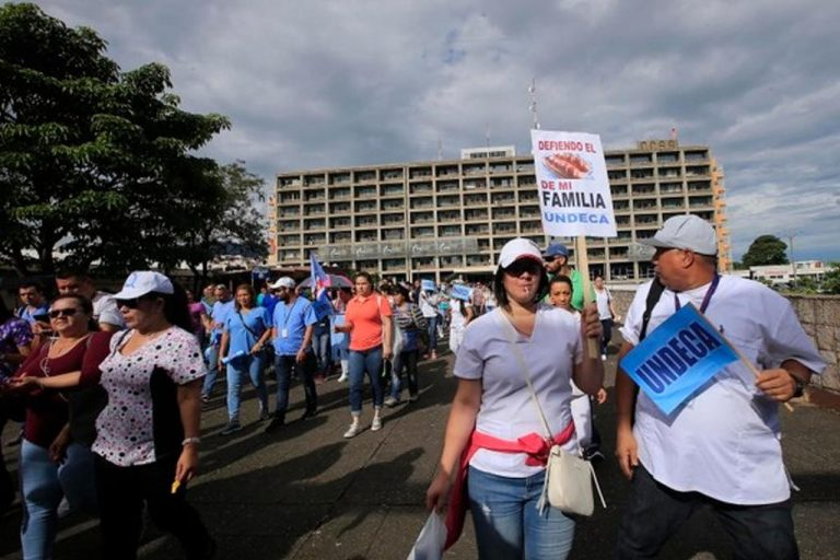 Trade Unions Hold General Strike Against Government