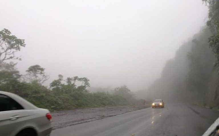 Ruta 32 At The Zurqui Closed This Friday Morning Due To Landslide
