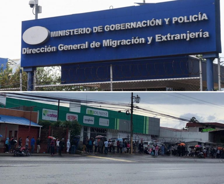 Nicaraguans Cram Immigration Seeking Refuge
