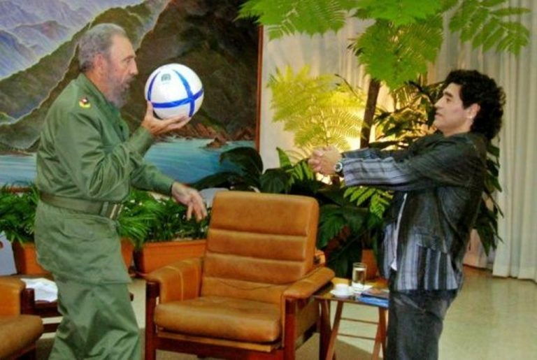 How Maradona Supports Anti-Imperialism Across Latin America