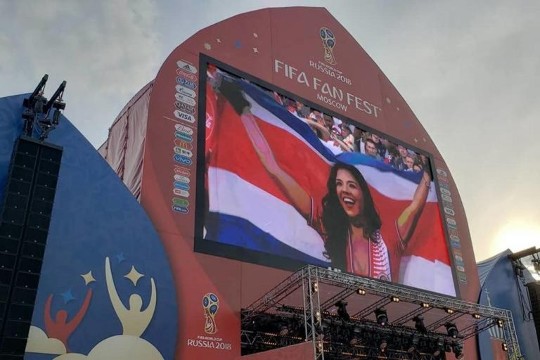 Costa Rica's Natalia Rodriguez Is The Darling of World Cup Russia