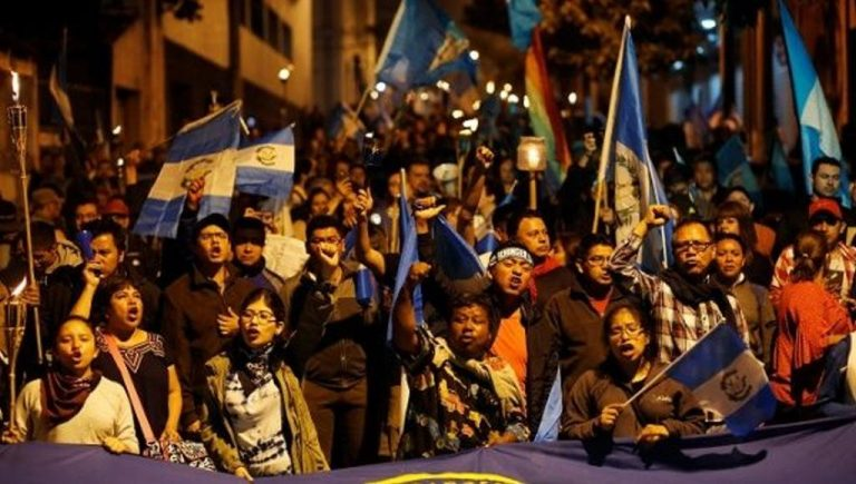 Thousands of Guatemalans Protest President Morales, Demand His Resignation Over Fuego Volcano Crisis