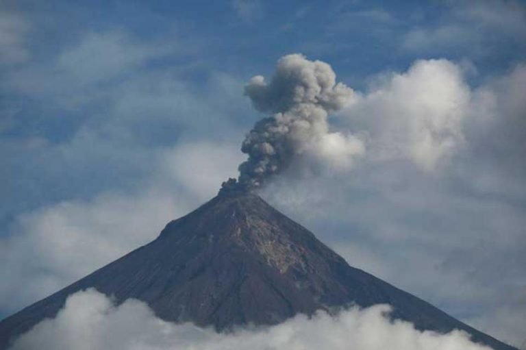 More Fire From Volcano Fuego in Guatemala