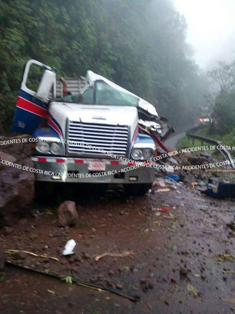 Driver Killed When Truck Hit By Landslide On The Ruta 32