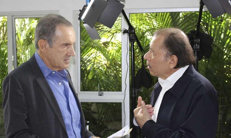 """Daniel Ortega Doesn't Mind Being Called A """"Dictator"""""""