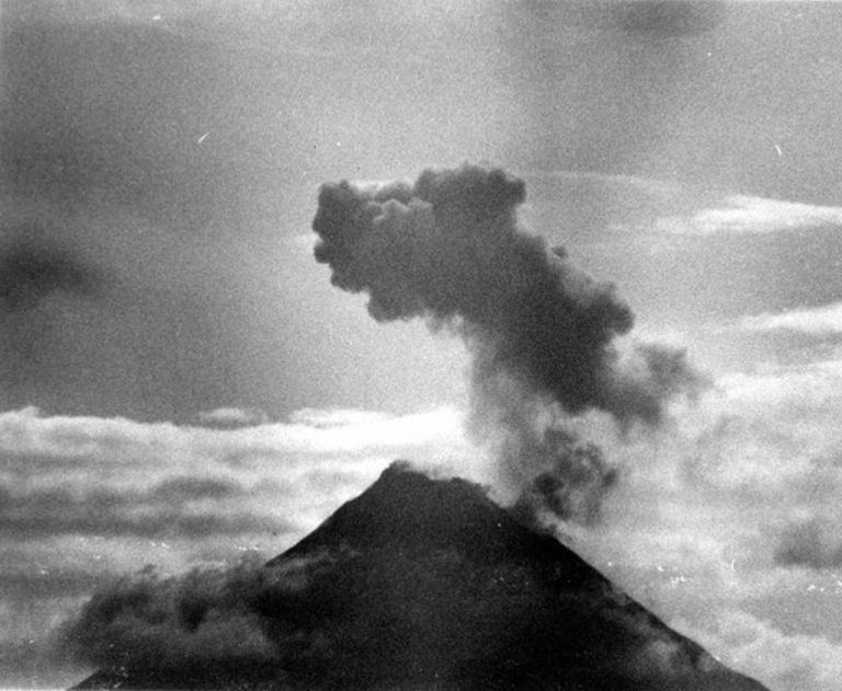 I Saw The Arenal Explode!