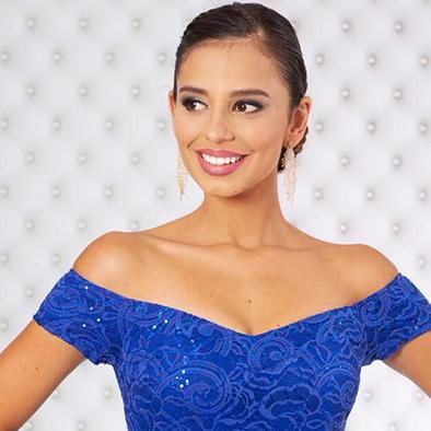 Presenting Miss Costa Rica for Reina de la Costa Maya 2018-19!