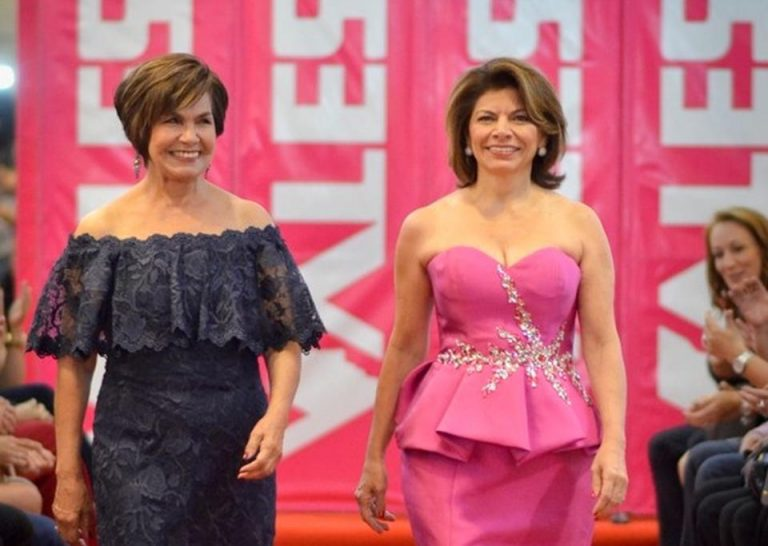 Laura Chinchilla Headlined In Charity Catwalk Against Cancer