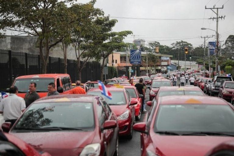 What did the Government commit to with the taxi drivers?