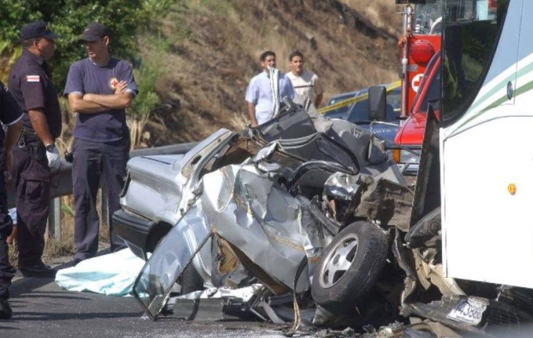 3 People On Average Die On The Road Every Day in Costa Rica