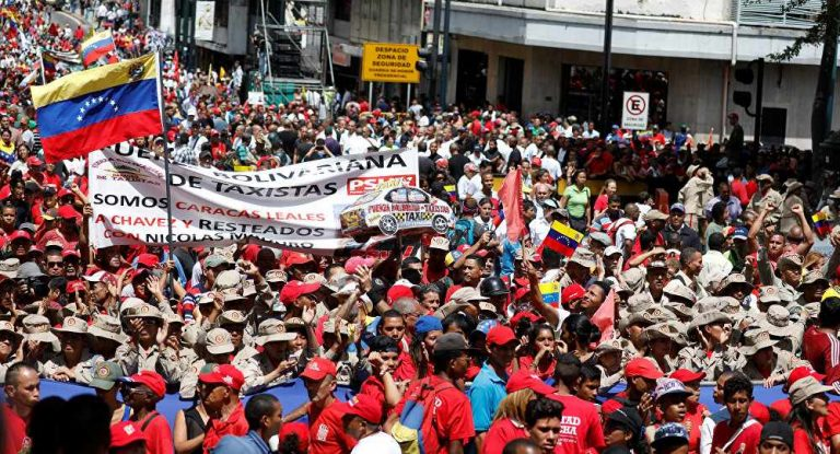 Thousands Rally in Support for Maduro After Assassination Attempt