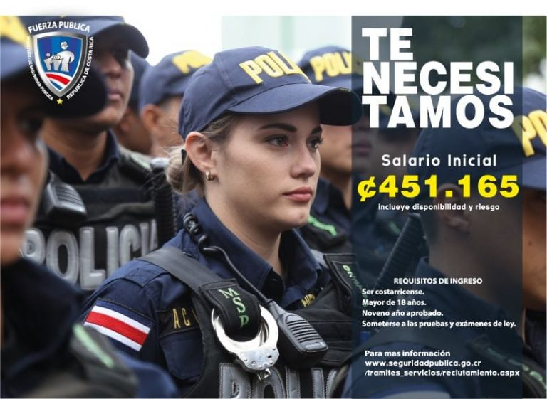 How Much Do Police Earn in Costa Rica?