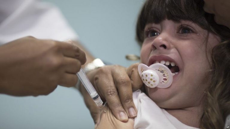 Brazil Health Ministry: 4 Million Kids Need Vaccinations
