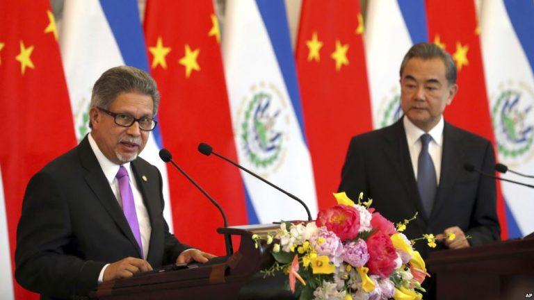 El Salvador, Taiwan Break Ties, Further Isolating Asian Isle