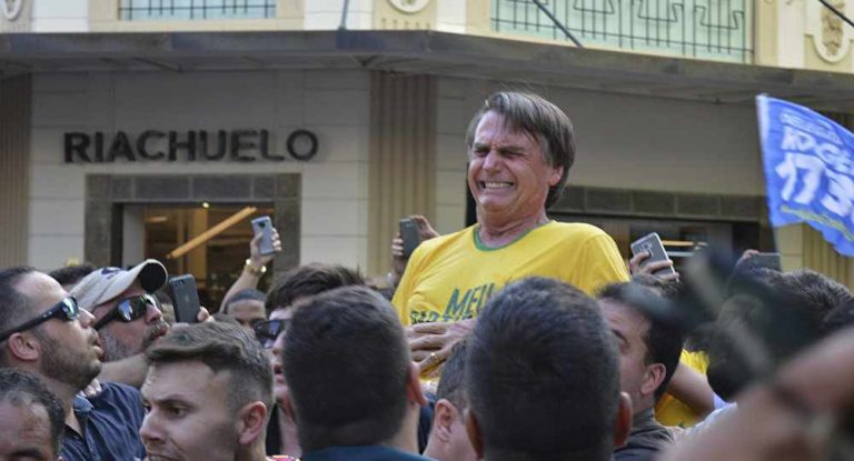 Brazil's Presidential Front-Runner Says Can't Partake in Debates After Stabbing