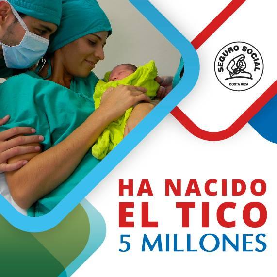 Baby 5 Million Born in Heredia!
