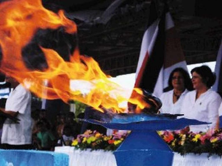 Costa Rica Will Receive The Independece Torch On Nicaragua Soil Without Traditions Or Speeches